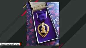 Discovery Of Purple Heart Medal At Goodwill Store Prompts Search For Family [Video]
