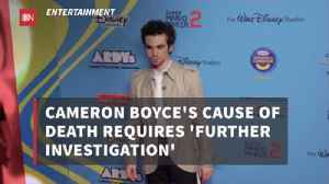 Examiners Are Trying To Determine Cameron Boyce's Cause Of Death [Video]