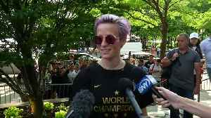 'We don't want to go to the White House': Rapinoe [Video]