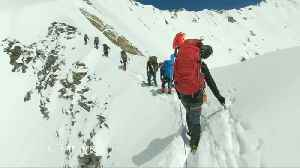 Video reveals final steps of Himalayan climbers [Video]