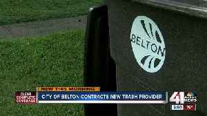 Belton switches trash provider after service issues pile up [Video]