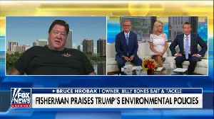 Florida fisherman says Trump's environmental moves helped turn his business around [Video]