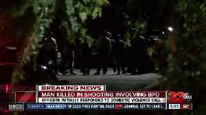 Man killed in officer involved shooting in Bakersfield [Video]
