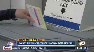 Voting could be made easier in county under new proposal [Video]