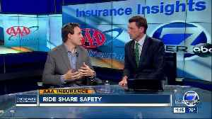 AAA Insurance Ride Share Safety [Video]
