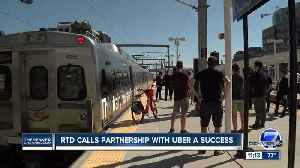 RTD is now selling tickets through Uber and says ridership is up [Video]