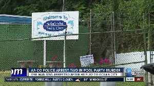 AA County Police arrest two in pool party murder [Video]