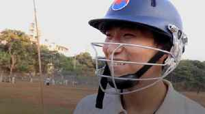 The South Korean trying to make it in Indian cricket [Video]