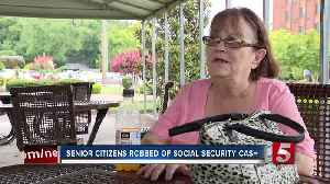 Senior citizen robbed at gunpoint for social security cash [Video]