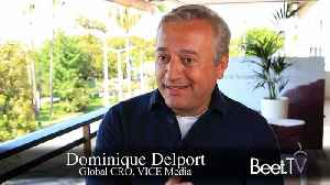 'New Home For Vice News' Coming Soon: Vice's Delport [Video]