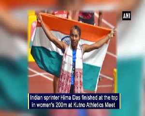 Hima bags gold at Kutno Atheletics Meet second in a week [Video]