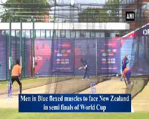 News video: Men In Blue gear up for semis against New Zealand