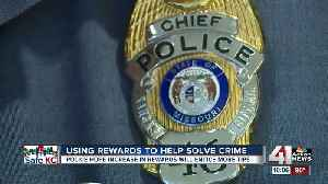 Crime trend: Increasing rewards helps police, including KCPD, clear homicides [Video]