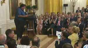 News video: Bruce Hrobak: Owner of Billy Bones Bait and Tackle invited to White House to talk about environment in front of President Trump