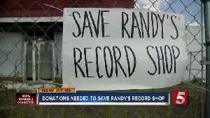 Donations needed to save Randy's Record Shop in Gallatin [Video]