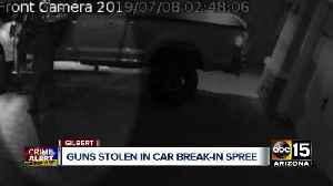 Thieves hit East Valley neighborhoods and steal multiple guns from cars [Video]