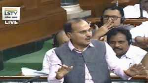 News video: Karnataka crisis I Cong MP Adhir Ranjan accuses BJP of 'poaching politics'