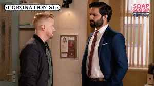 Coronation Street Soap Scoop! Gary admits responsibility for Rana's death [Video]