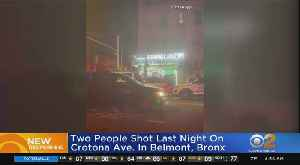 Two People Shot Monday Night On Crotona Ave. In Belmont, Bronx [Video]