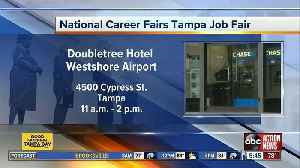 Companies looking to hire participating in Tuesday's job fair [Video]