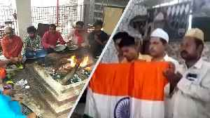 India vs NZ World Cup semi-final: Fans offer prayers at Sangam, dargah [Video]