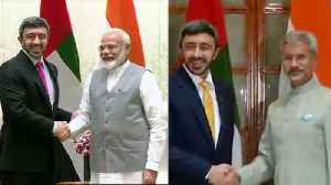 UAE foreign minister meets PM Modi, S Jaishankar; terror, energy discussed [Video]