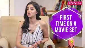 Ananya Panday REVEALS her first kiss shooting with Suhana and fan moment with Hrithik Roshan [Video]