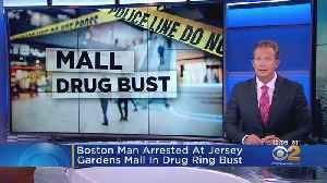 Boston Man Arrested At Jersey Gardens Mall In Drug Ring Bust [Video]