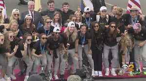 News video: USWNT World Cup Parade: New York Readies To Celebrate U.S. Womens' National Team