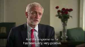 News video: Corbyn: Labour backs second referendum on Brexit