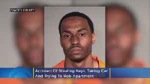 Charges: Man Stole Keys From Woman's Walker, Took Her Car & Tried To Rob Her Apartment [Video]