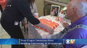 News video: Texas Couple Celebrates 62nd Wedding Anniversary At Where Else -- Whataburger