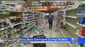 Navy Base In Recovery, Clean Up Mode After Big Earthquakes [Video]