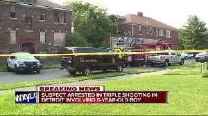 Suspect in custody after 3 people shot, including a child, on Detroit's west side [Video]