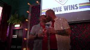 Northern Ireland: Campaigners toast landmark milestone in bid to secure same-sex marriage [Video]