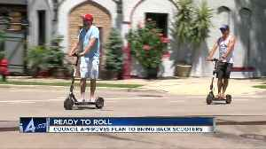 Electric scooters ready to roll in Milwaukee [Video]