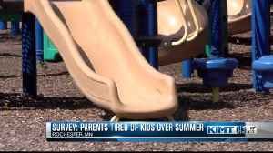 Study finds parents wish kids were back in school [Video]