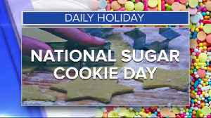 Daily Holiday - National sugar cookie day [Video]