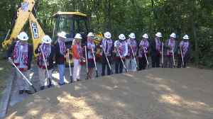Governor Lee Helps Break Ground on New Red Wolves Facility [Video]