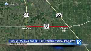 Public hearing for S.R. 28 rehabilitation project [Video]