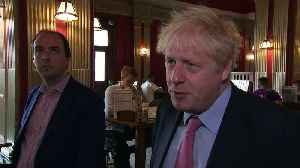 Boris: 'I think he is a superb diplomat' [Video]