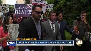 Judge: Hunter's trip to Italy was a family vacation [Video]