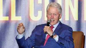 News video: Bill Clinton demonstrates complete transparency with Jeffrey Epstein relationship