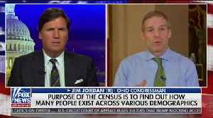 News video: 'Maybe they're afraid' Rep. Jordan suggests reason Dems don't want census citizenship question