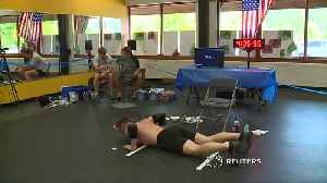 Michigan man breaks Guinness record for most burpees [Video]