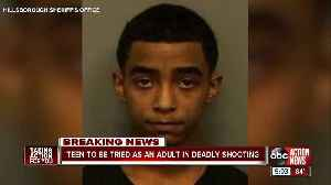 Teen facing murder charge in shooting of 14-year-old to be tried as an adult [Video]