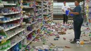 Commissary, Chapel At Naval Base Heavily Damaged After Ridgecrest Earthquakes [Video]
