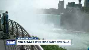 Man survives plunge over Horseshoe Falls [Video]
