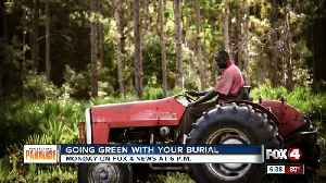 Eco friendly burial options for the envrionment [Video]