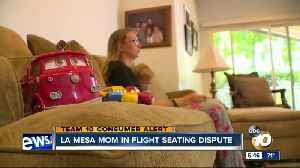 La Mesa mom said airline told her to pay extra to sit next to toddler [Video]